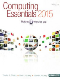 Image of Computing essentials 2015 : Making it work for you